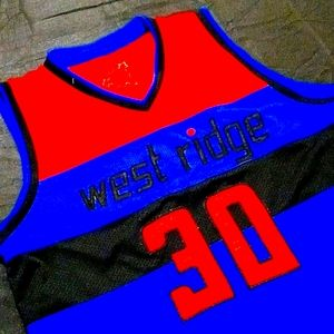 🏆HP🖤❤💙 Westridge Basketball Jersey